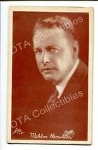 MAHLON HAMILTON-1920-ARCADE CARD-SILENT FILM STAR G - $19.56