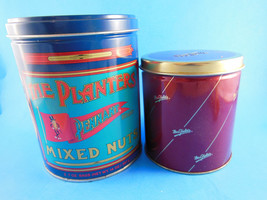 The Planters Pennant Brand Limited Edition + Mrs. Field's Collector's Tins - $10.39