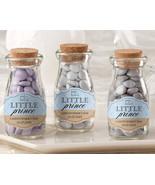 Personalized Blue Little Prince Milk Jar Boy Birthday Baby Shower Baptis... - $75.95+