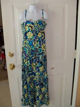 Justice Floral Maxi Dress Size 12 Girl's EUC - $16.38