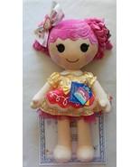 NEW Build A Bear Lalaloopsy Crumbs Sugar Cookie Doll, Dress, Hair Bow NWT - $99.99
