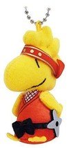 New! Woodstock Ninja Mascot Doll Ball Chain Snoopy Peanuts Japan F/S - $42.06