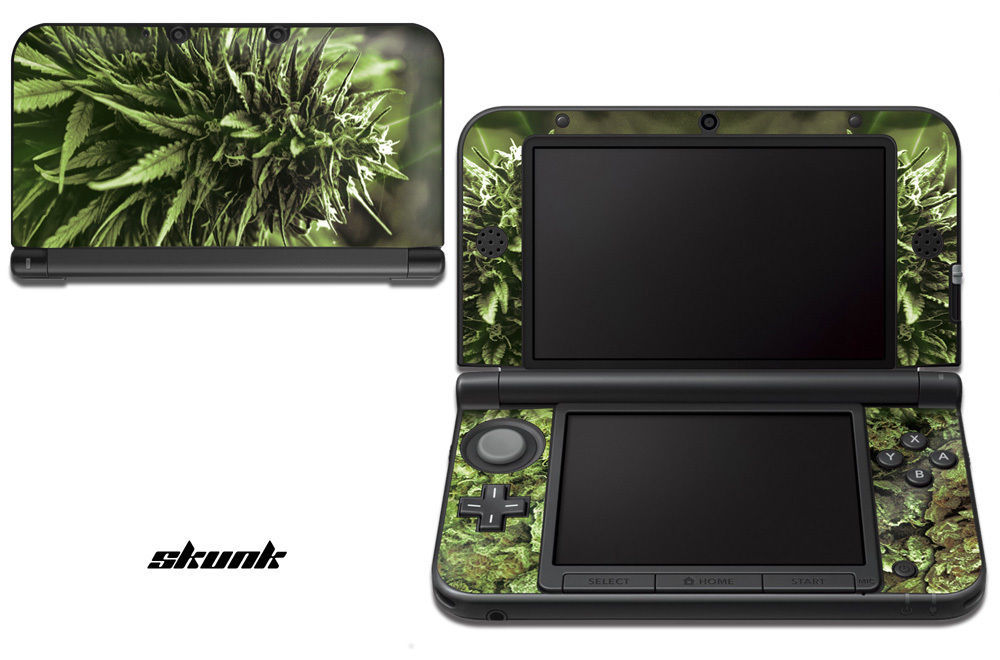 Skin Decal Wrap for Nintendo 3DS XL Gaming Handheld Sticker 12-15 SKUNK