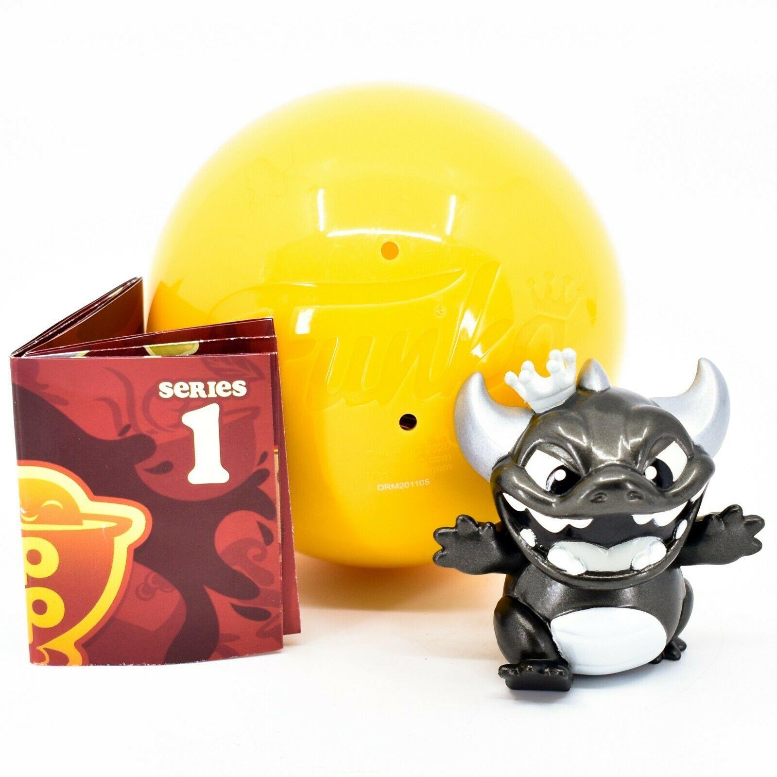 Funko Paka Paka Soup Troop Series 1 Grayscale Bonus Dragon Mini Figure