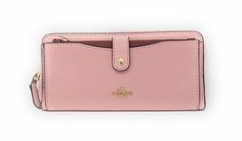 Coach Color-block Multi-function Wallet (Blush Terracotta) - $108.90