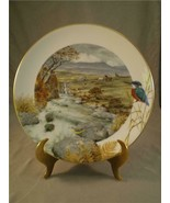 Country Year Collector Plate Secluded Stream in November Artist Peter Ba... - $32.71