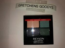 Revlon Colorstay 16 Hour Eye Shadow #585 Sea Mist NEW  Factory Sealed - $9.89