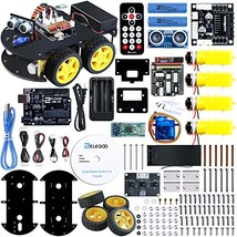 ELEGOO UNO Project Smart Robot Car Kit V 3.0 with UNO R3, Line Tracking ... - $63.76
