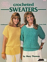 "American School of Needlework ""Crocheted Sweaters"" 6 Designs - Gently Used - $5.00"