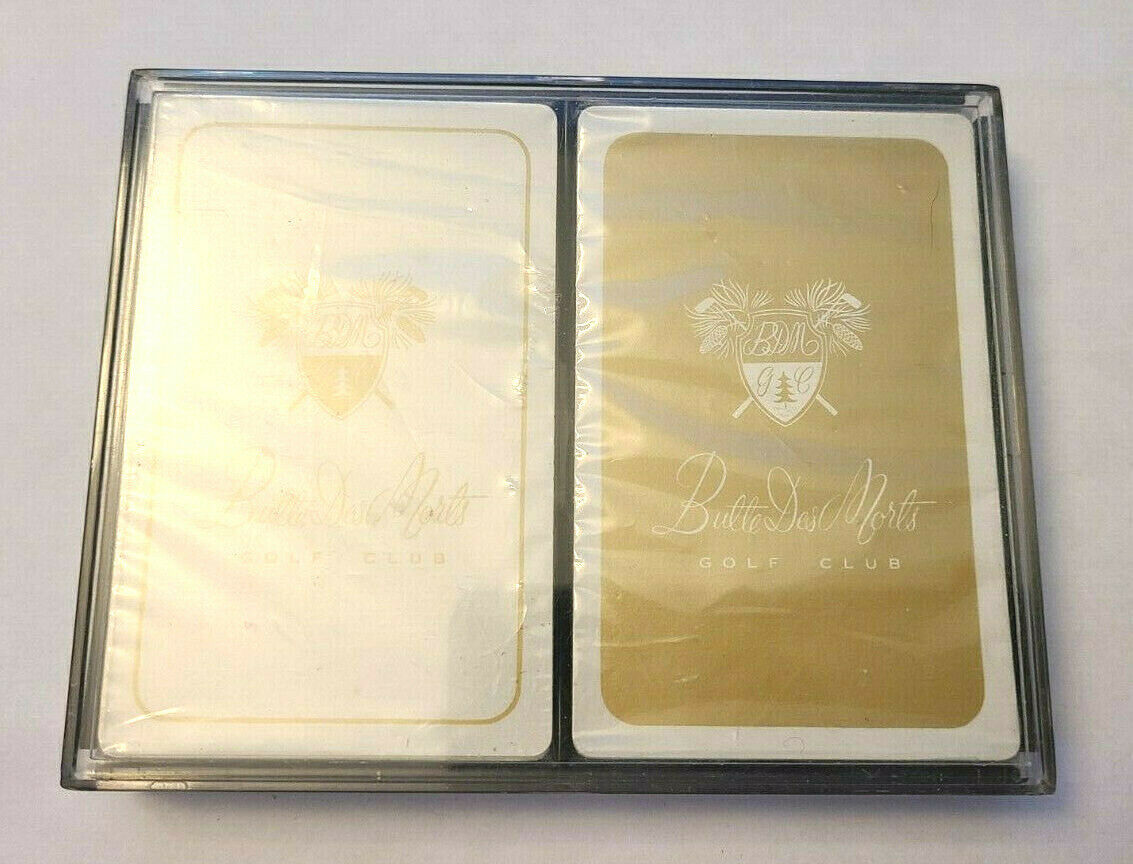 Butte Des Morts Golf Club Double Deck Playing Cards