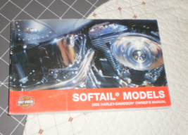 2005 Harley Davidson Softail Models Owners Manual used  - $34.95