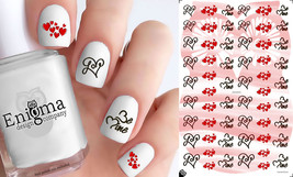 Valentine's Day Nail Decals - Vol III (Set of 54) - $4.95