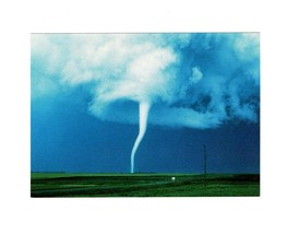 PICTURE POSTCARD- CLOUDSCAPES-CUMULONIMBUS WITH TORNADO-FIRST DAY ISSUE ... - $2.91
