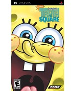 Spongebobs Truth or Square PSP SONY PLAYSTATION Portable Video Game - $10.97