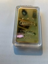 Egypt golden bar ingot Cleopatra uncirc. souvenir coin - $14.95