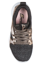 Girls' Black Rose Gold S Sport by Skechers Edena Sneakers Shoes NEW image 3