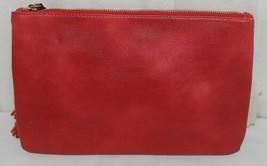 Handbag Republic Brand HG0024 Red Vegan Womens Purse With Large Tassel Detail image 2