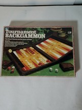 TOURNAMENT BACKGAMMON SET COMPLETE VINTAGE 1978 Lowe - $17.88
