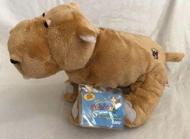 Webkinz MUD HIPPO  NWT Attached sealed unused code ~ HTF ~ PLUSH Brown S... - $15.83
