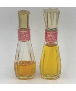 Vintage Coty L'Aimant Laimant Spray Perfume Two Partial 1.8 oz Flacon Pf... - $29.95