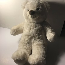 Build A Bear White Bear Plush - $16.83