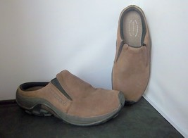 "MERRELL - Women's Brown Nubuck ""Jungle Slide"" Moc Slip On Shoes - SIZE 6 - $22.95"
