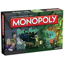 Monopoly: Rick and Morty Edition - $40.00