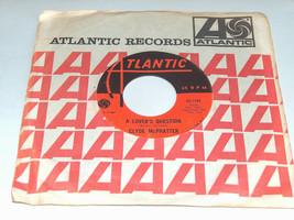 45 RPM Clyde Mcphatter A Amantes Pregunta Soporte Alone Atlantic Record ... - $12.07