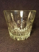 Princess House Lead Crystal Etched Glass Ice Bucket / Bowl - $9.89