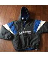 Vintage Orlando Magic Starter Jacket  90s Rare NBA Collectible SPELLOUT - $197.01