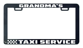 Grandma's taxi service license plate frame holder - $5.99