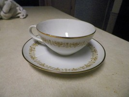Sheffield cup and saucer (Imperial gold) 2 available - $3.12