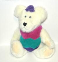 "BOYD'S BEARS  10"" Plush Bear Egbert Q. Bearsford   tag - $12.82"