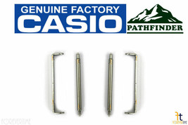 CASIO Pathfinder PAS-400B Watch Band End Links w/ Spring Rods (QTY 2) PA... - $20.95