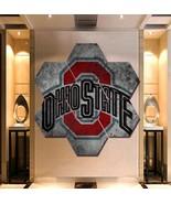 Ohio State Buckeyes Wall Art Painting Canvas Poster Decor Hexagon 7 Panels. - $94.99+