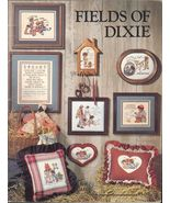 1 Vintage 1985 Book #14 Fields of Dixie Cross Stitch Booklet  - $8.99