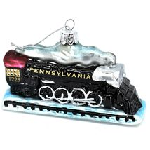 Kurt S Adler Lionel Pennsylvania Train #1225 Hand-Crafted Glass Ornament LN4192 image 6