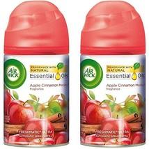 Air Wick Freshmatic Automatic Spray Air Freshener, Apple Cinnamon Medley... - $20.86