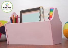 KidKraft 15904 Kids Toy School Art Caddy Storage Tote Pink NEW - $25.95
