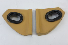 95 Ferrari 456 GT 456GT trim dash end left and right covers tan - $46.74
