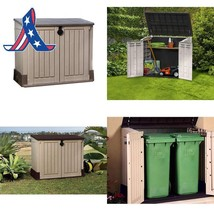 Keter Store-It-Out Midi 4.3 X 2.5 Outdoor Resin Horizontal Storage Shed - $181.42