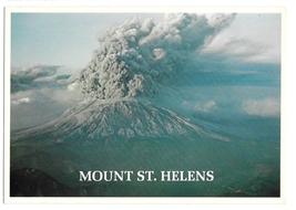 WA Mount St Helens Erupting Active Volcano Ted Leonard Photo Vntg 4X6 Po... - $4.99