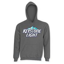 Keystone Lite Men's Classic Hoodie Grey - $50.98+