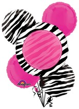 Another Year of Fabulous Birthday Pink Party Decoration Mylar Balloon Bo... - $18.66