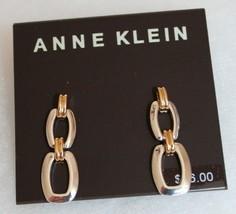 NWT- Anne Klein Drop Earrings in Gold - $26.24