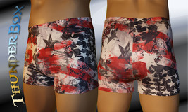 Thunderbox Nylon Spandex Mens Womens Americana Gladiator Shorts  S, M, L, XL - $20.00