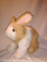 FurReal Friends BUNNY HOP 'N CUDDLE Tan & White,Sound Moves Hops Easter ... - $25.29
