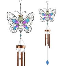 Beaded Glow In the Dark Butterfly Wind Chime - $32.98