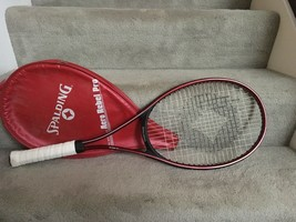 Spalding Aero Rebel Pro Tennis Racket with Cover-New Grip - $10.00