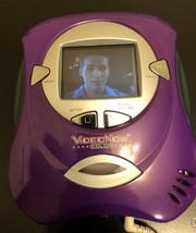 Vintage VideoNow! Color Disc Player Bundle Ear Buds Hilary Duff Hasbro 2004 - $24.75